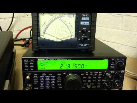 TS590 vs FT1000 MKV Field SSB Talk Power
