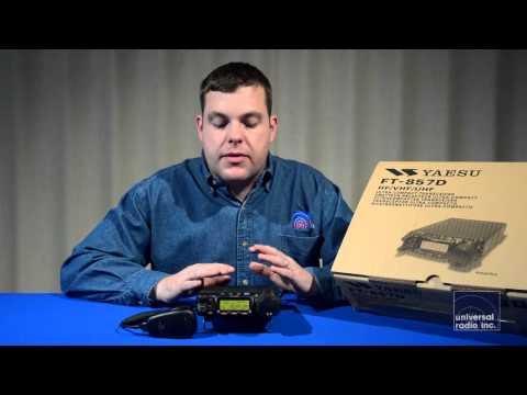 Universal Radio presents the Yaesu FT-857D Mobile Amateur Radio