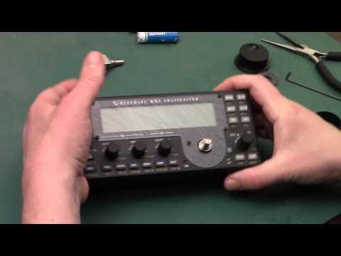 Elecraft KX3 Ball Bearing VFO Encoder Upgrade