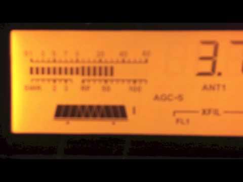 Elecraft K3 SSB listening on 6kHz filter (wide)