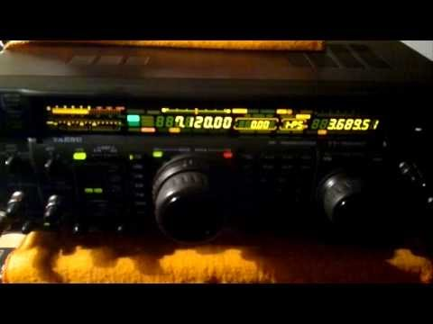 yaesu ft 1000mp audio en 40 mts