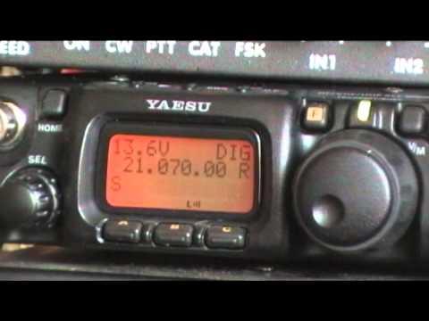 QRP QSO 2W FT 817 PSK31