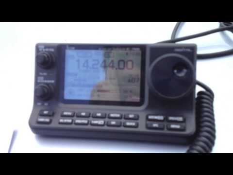 DX Portable at Windmere M3UEO with M3VDH works Netherlands Icom-7100 & Pro Whip