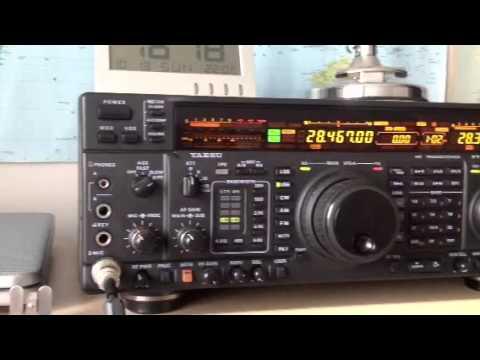 K0JU Colorado USA 10m radio amateur Yaesu FT-1000MP