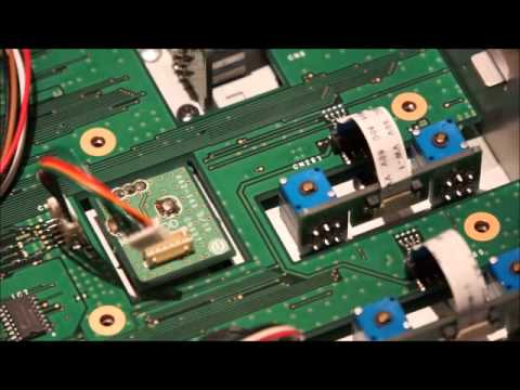 Kenwood TS-990 replacing the Multi/CH encoder at home