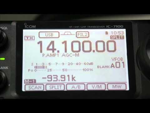 ML&S demonstrate the NEW Icom IC-7100