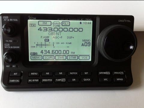 IC-7100 RTTY DECODE