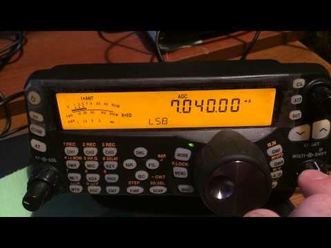 Sony ICF-7600GR Kenwood TS-480SAT