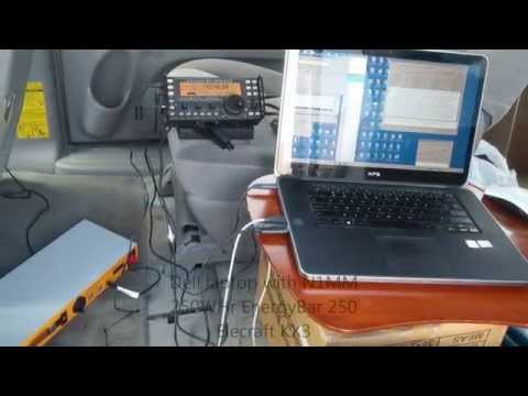Elecraft KX3 + AlexLoop + Solar Power = Field Day 2014