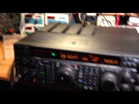 Yaesu FT-1000 Mark V Repaired by M1APC