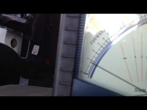 Teste Linear Ameritron apos kit de 10 estalado