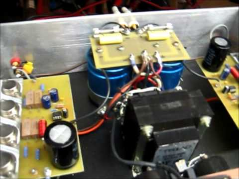 Linear Regulator Amp, Audio