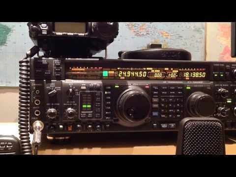 K5YG Bill in Southern Mississippi on 12m, great signal received on Yaesu FT-1000MP during huge storm