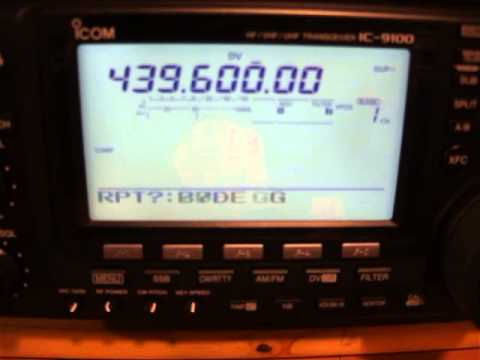 Icom IC-9100 showing missing beep on ack from repeater.