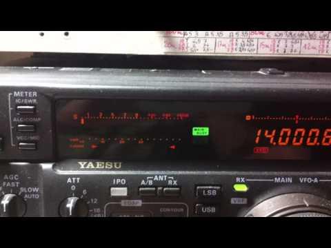 Yaesu ft1000-mp MarkV 200w (B)