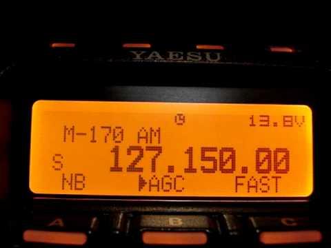 Yaesu FT 857D escutando aviação em São Paulo