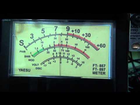 S-meter analógico Yaesu FT-857 / FT-897
