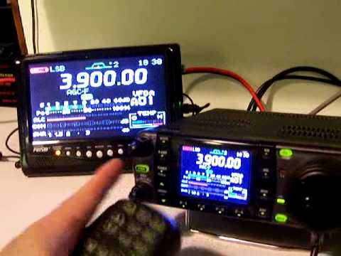 Icom IC-7000 Ham Radio Auction showoff