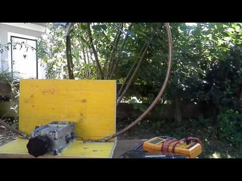 QRP-Transceiver FT-817  (5 Watt) an Eigenbau-Magnetic-Loop OE5AWL/p mit UA8A 6492 km