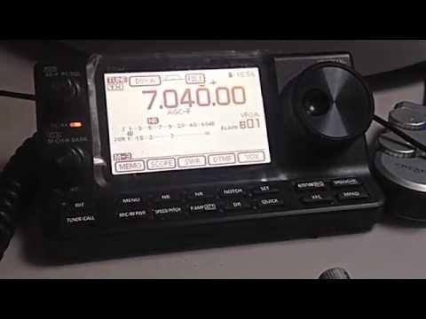 D-Star in HF 7 Mh Icom IC-7100