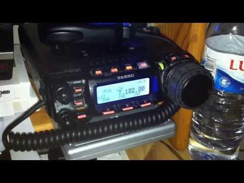 ***NEW *** Yaesu FT-857D + CW Key - Ham Radio 40m HF - CT1JQU