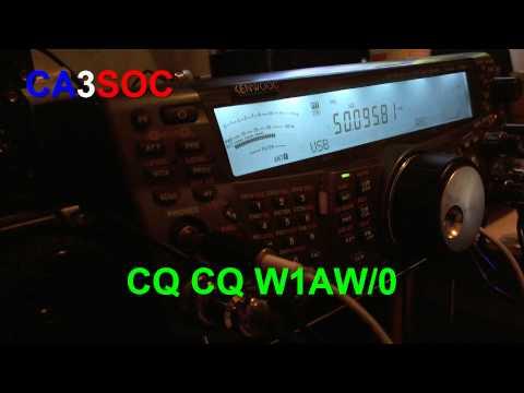 CA3SOC W1AW/0 CW 6 meter 50 mhz Kenwood TS-2000