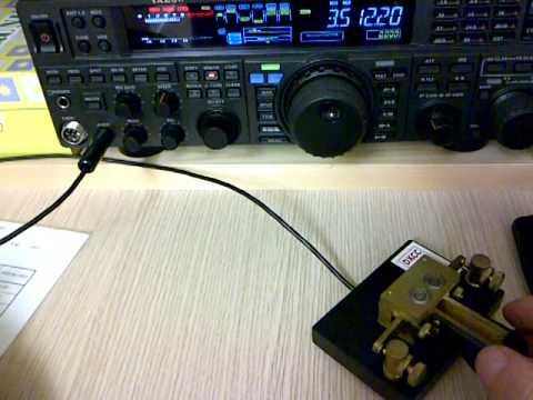 Yaesu FT-950 - CW on 80mt