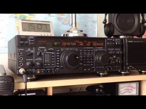 JW9JKA Amateur Radio on Bear Island calling CQ on 10m from IOTA EU727, Yaesu FT-1000MP