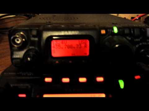 Yaesu FT-817 listening to FO-29 beacon below 1.5 degrees