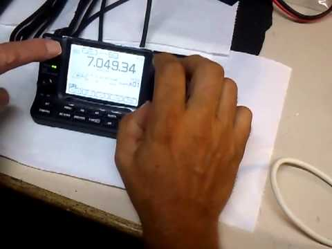 ICOM IC 7100 first start