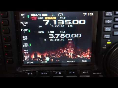RADIOAMADORISMO KENWOOD TS 2000 , ICOM IC756PRO 2, YAESU FT 1000 MP