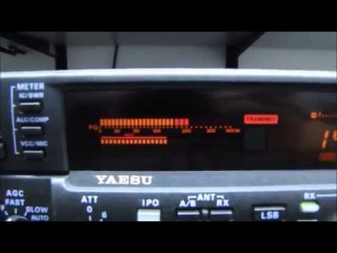 ALPHA TELECOM: YAESU FT-1000MP MARK-V COM BAIXA SENSIBILIDADE