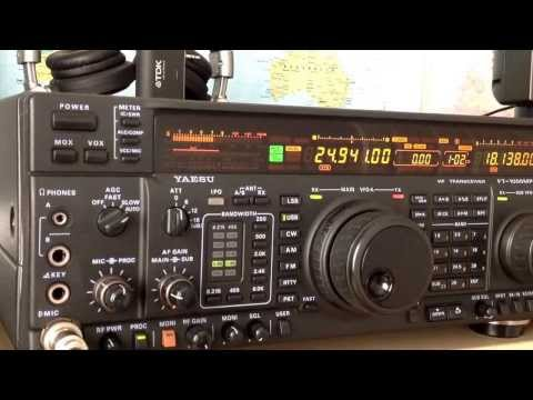 A61AS amateur radio station in Dubai UAE, 12m on Yaesu FT-1000MP