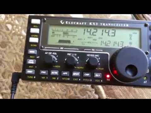 1098 Mile 5 Watt Confined space QRP QSO on Elecraft KX3 using Alpha Loop
