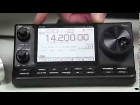 Demonstration of the NEW Icom IC 7100