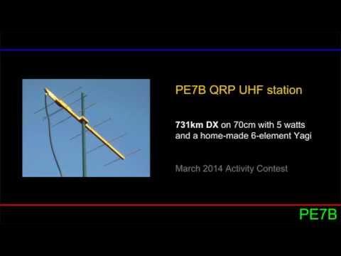 432MHz QRP DX: 731km with 5W and a WA5VJB Yagi