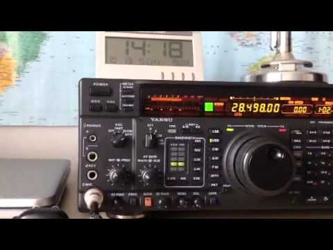 AB1OC New Hampshire USA Yaesu FT-1000MP Amateur Radio