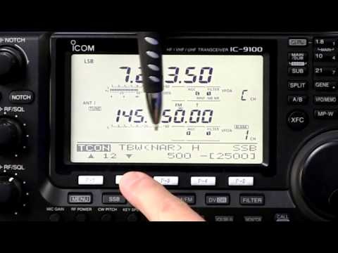 IC-9100 Review