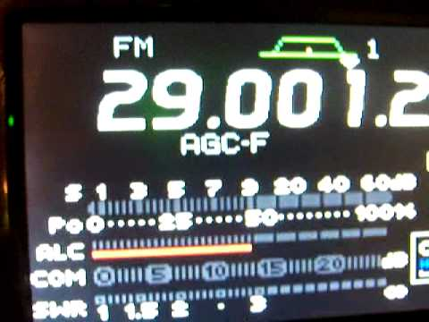 Icom IC-7000 Ham Radio Power output