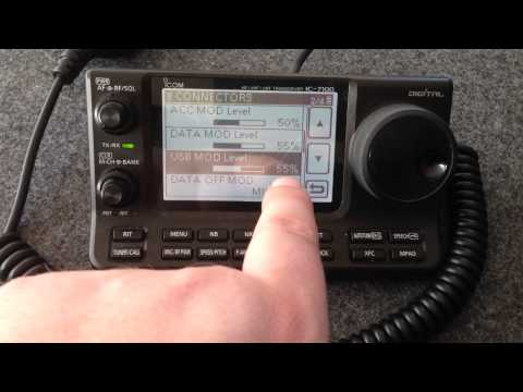 FreeDV op de Icom IC-7100