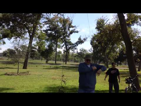 Mutual Aid Group Time - Exercise and trying out new Yo-Yo HF Antenna w/ FT817 QRP Rig.