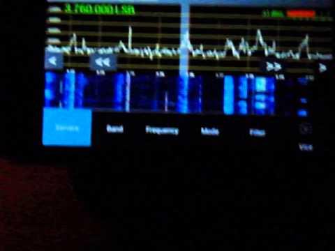 SDR na 80m  via Android APP a Yaesu FT857 +LW
