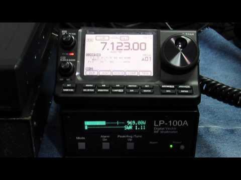 ICOM IC-7100 EM 40m