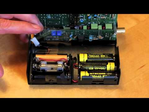 Using Lith-Ion batteries in an Elecraft KX-1 for more RF output
