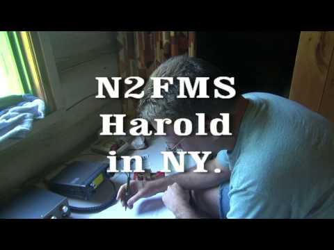 N6tlu Drummond Island Ham radio Contact QSO list icom 706 CW QRP