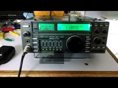 Icom IC-735 HF Amateur Radio Ham Transciever HF Rig For Sale
