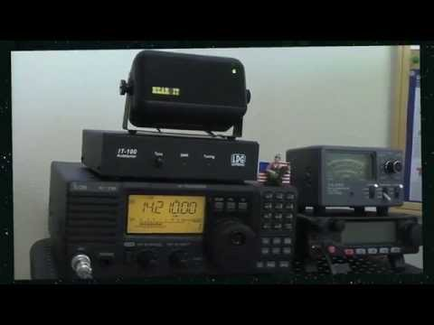 Testing The Gap Hear It DSP Speaker With My ICOM 718 HF Transceiver