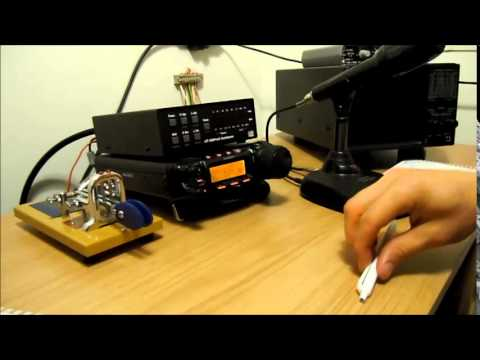 M0SAZ using Yaesu FT-857D in 40m SSB QSO with Fil G0VRR and the group