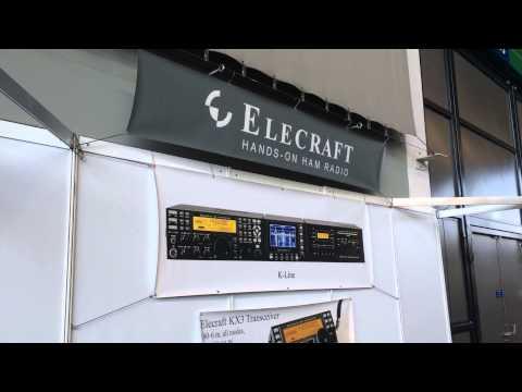 Hamfest 2014, Friedrichshafen - Elecraft stand