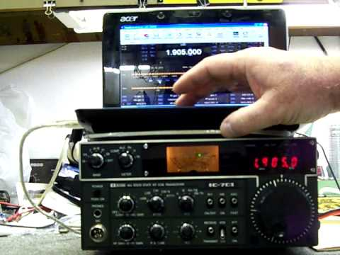 Using the Icom IC-701 with Ham Radio Deluxe